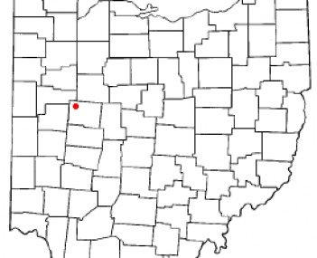 Location of Russells Point, Ohio