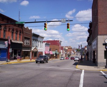Downtown Shelby Ohio