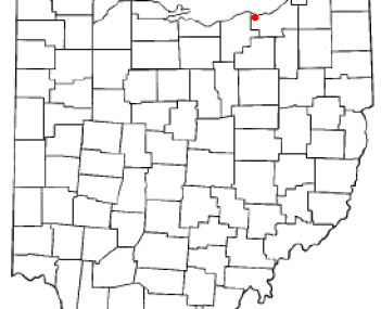 Location of Westlake in Ohio