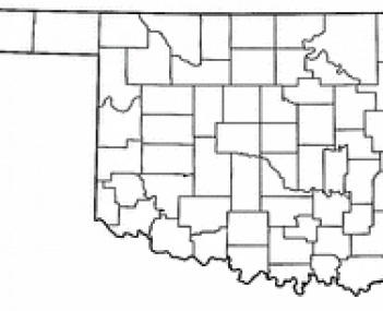 Location of Miami, Oklahoma
