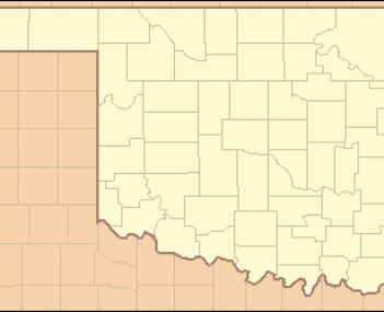 Oklahoma Locator Map