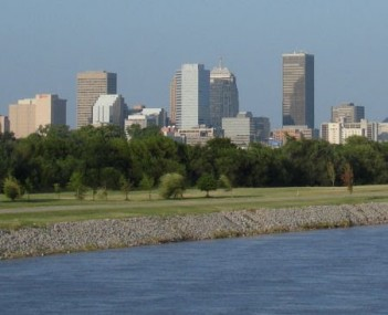 OKC Skyline from OK river