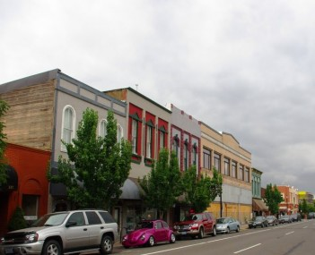 Downtown Albany Oregon