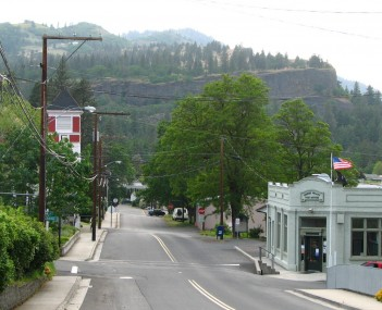 View of Mosier