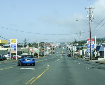 U.S. Route 101 in Newport