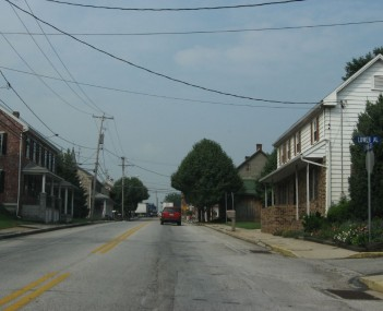 U.S. Route 30 in Abbottstown