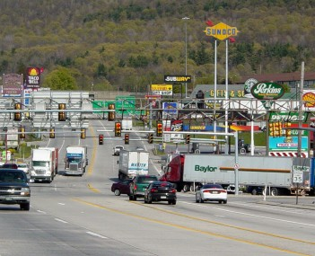View of Breezewood