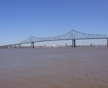 Commodore Barry Bridge From Ferry Rd