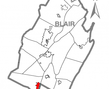 Claysburg  in Blair County