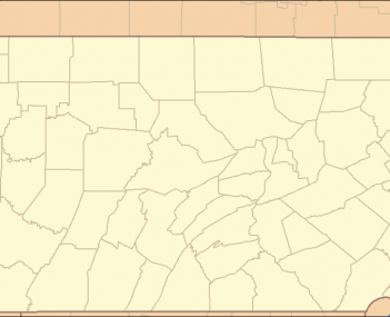 Location of Gladwyne in Pennsylvania