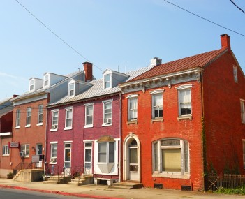 Houses on Fourth Street