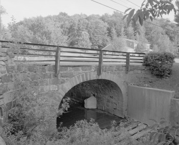 The Lilly Bridge, a historic site in the borough