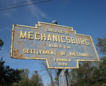 Mechanicsburg PA Keystone Marker