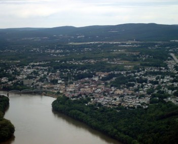 Pittston City Aerial