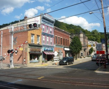 West Newton Pennsylvania Main Street 2010