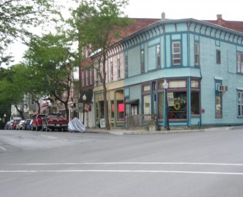 Downtown Wyalusing in July 2012