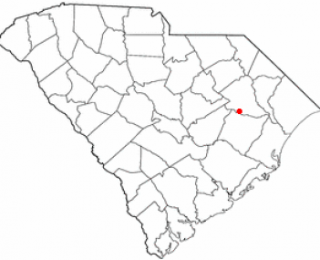 Location of Lake City in South Carolina