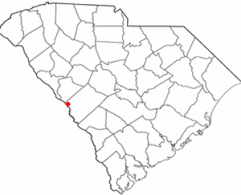 Location of North Augusta, South Carolina