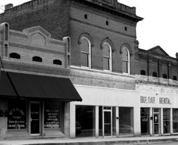 Bolivar tennessee square bw
