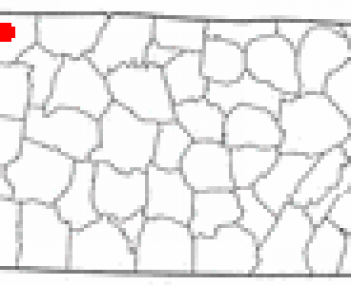 Location in Montgomery County and the state of Tennessee