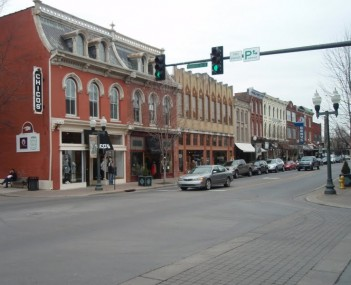 4th ave main street historic franklin tennessee 2010