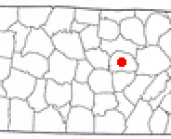 Location of Sparta, Tennessee