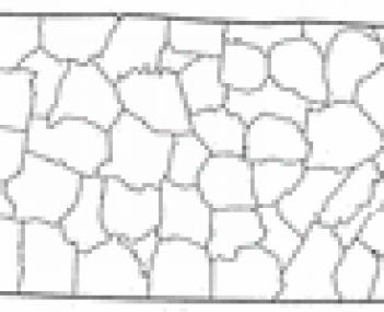 Location of Tiptonville in Tennessee.