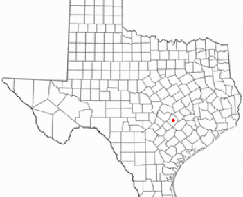 Location of Bastrop, Texas