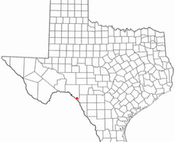 Location of Del Rio, Texas