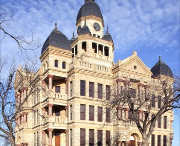 Denton historic courthouse