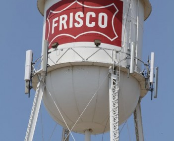 Frisco Downtown Water tower 05312010