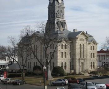 Hood County courthouse