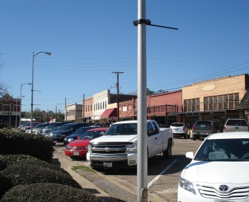 Downtown Jasper from corner of Lamar and Zavalla
