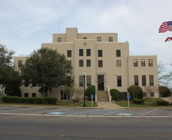 The Titus County Courthouse in Mount Pleasant