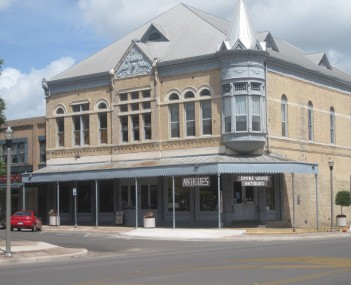 Janey Slaughter Briscoe Grand Opera House in Uvalde, restored by the late Governor and Mrs. Dolph Briscoe