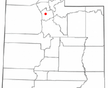 Location of West Valley City, Utah