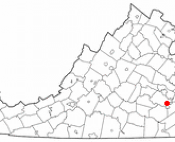 Location in the State of Virginia