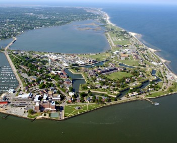 View of Fort Monroe