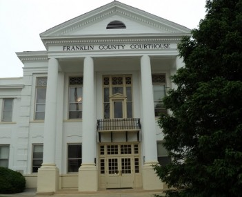 Franklin County Courthouse Rocky Mount Virginia