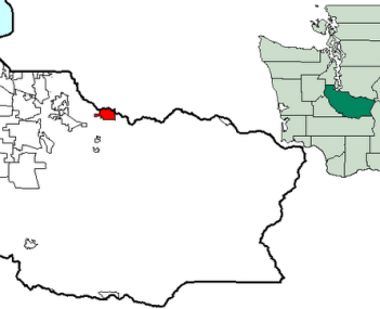 Location of Buckley, Washington
