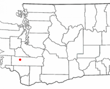 Location of Chehalis, Washington