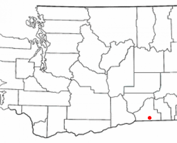 Location of College Place, Washington