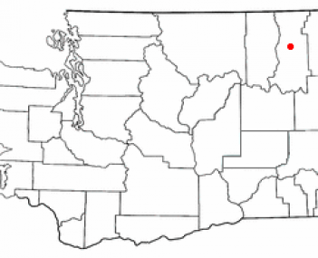 Location of Colville, Washington