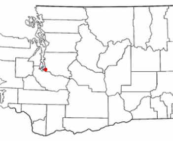 Location in Washington