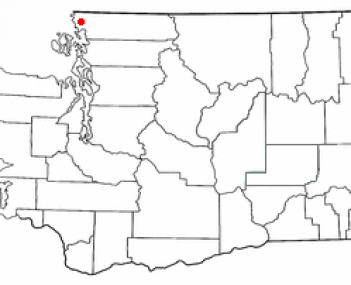 Location of Ferndale, Washington