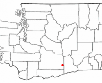 Location of Grandview, Washington