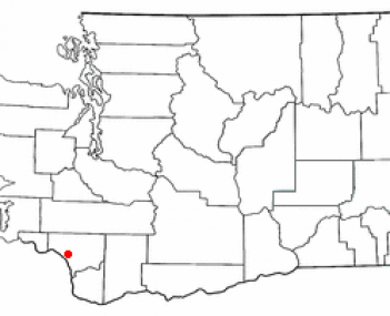 Location of Kelso, Washington