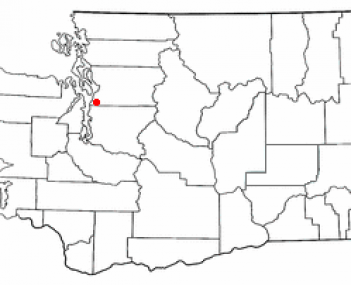 Location of Lynnwood, Washington