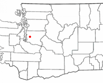 Location of King County, Washington (where Mercer Island is located)