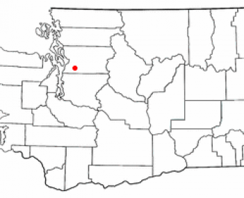 Location of Monroe, Washington